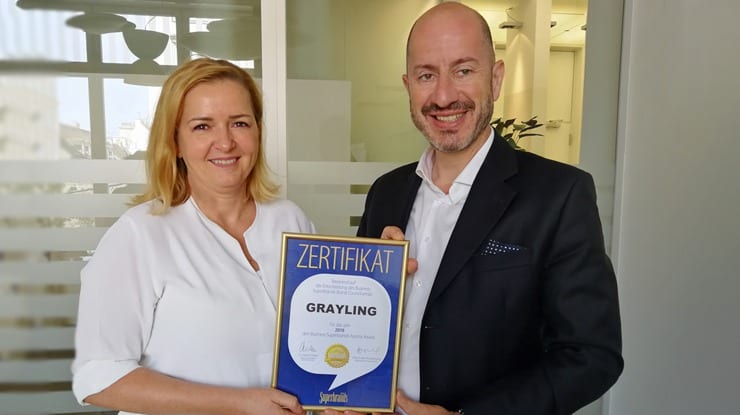 Grayling Austria is Superbrand and No.1